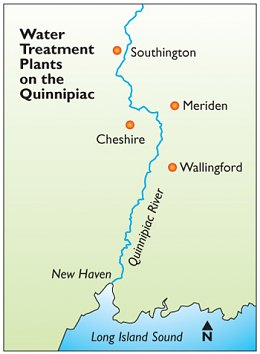 Water Treatment Plants on the Quinnipiac
