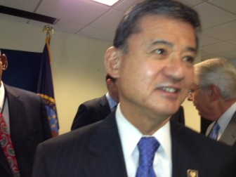 U.S. Veterans Affairs Secretary Eric K. Shinseki