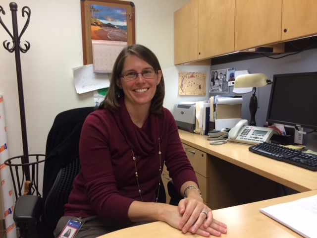 Dr. Erin Hofstatter is studying black cohosh.