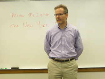 New York Times Reporter Mike McIntire.