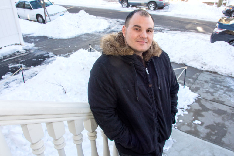 Pasquale Pilla Jr., lives in New Haven and is enrolled in VA treatment programs.