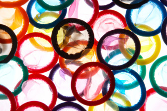 Yearly, 18 billion condoms are used worldwide.