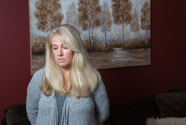 Alyson Hannan said she experienced back and pelvic pain and a rash and boils, after having Essure inserted in her fallopian tubes.