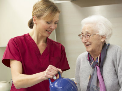 Community care workers connect patients with proper medical care.
